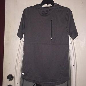 Dark gray short sleeve Russell Training Fit
